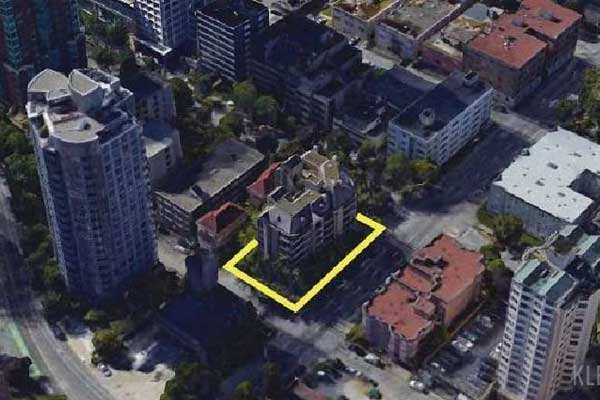 1075 Barclay Street Vancouver Tower Site